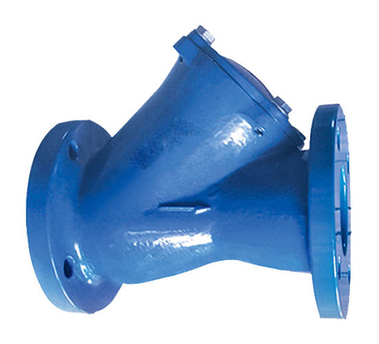 En1092-2 Pn16 Ductile Iron Ball Check Valve with PE Coating