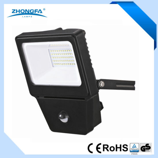 china 30w ip54 epistar led outdoor floodlight with sensor china