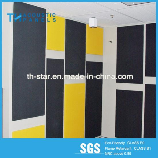 China Hot Sale Interior Decorative Pet Acoustic Wall Panel - China ...