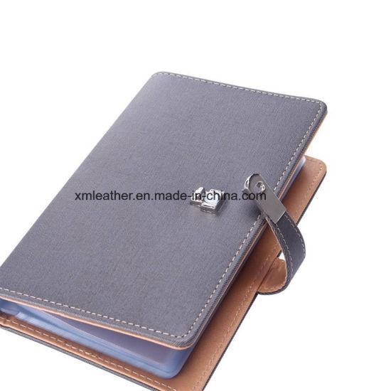 China Custom Business Card Book Leather Name Card Holder China