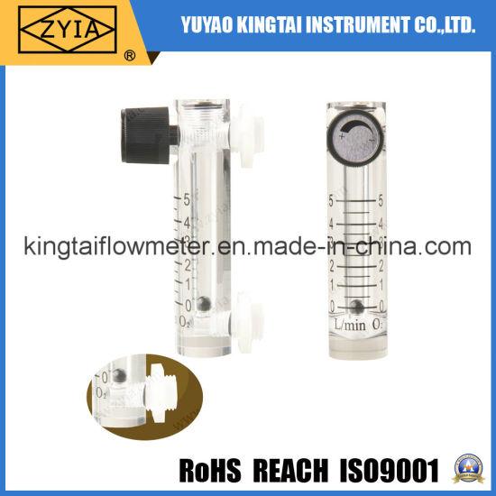 Stainless Steel Fitting Medical Portable Oxygen Flowmeter