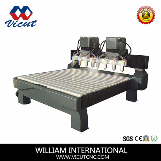3D Woodworking CNC Machine for Making Door Vct-1518W-4h pictures & photos