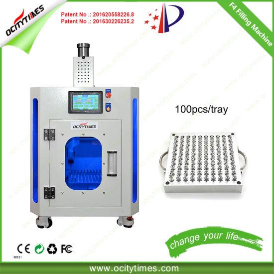 Ocitytimes Easy Operate Hemp Oil Cartridge Filling Machine F4