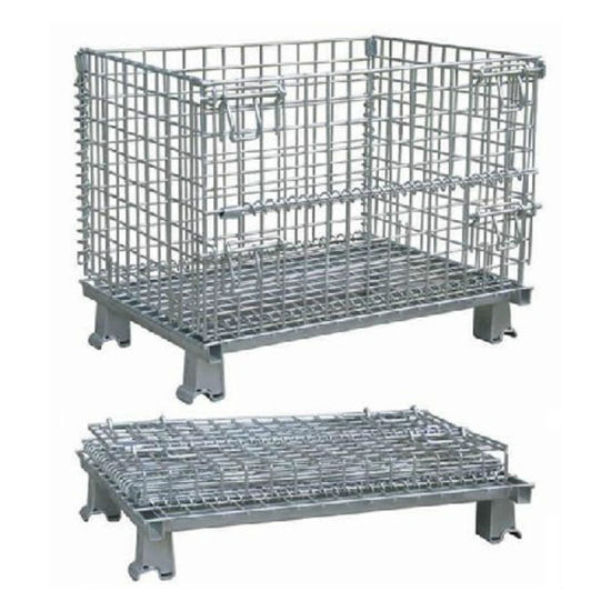 Wire Container/Wire Mesh Container/Storage Cage