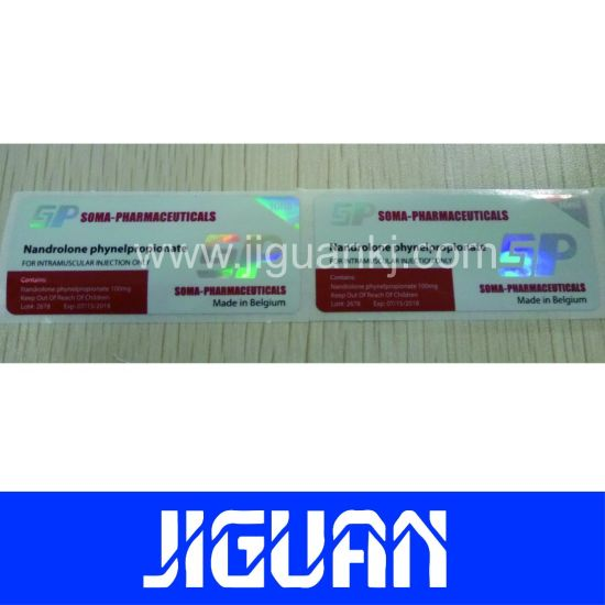 China Pharma Popular Design 10ml Steroids Vial Labels - China Vial