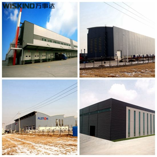 China Listed Company Durable Steel Structure Workshop Buildings