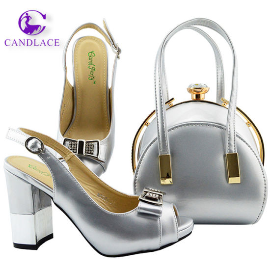 Wholesale Wedding Party Shoes with Matching Bag