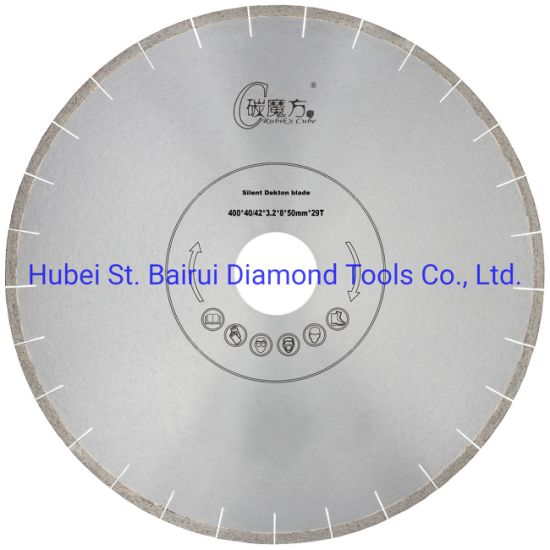 16inch 400mm Factory Direct Sale No Chipping Fast Cutting Speed Dekton Silent Cutting Diamond Saw Blade Cutter