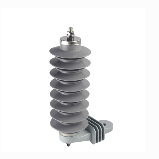 Composite Polymer Lightning Surge Arrester for Railway Network pictures & photos
