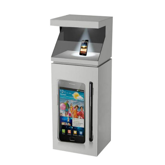 Holographic Display for Advertising Player