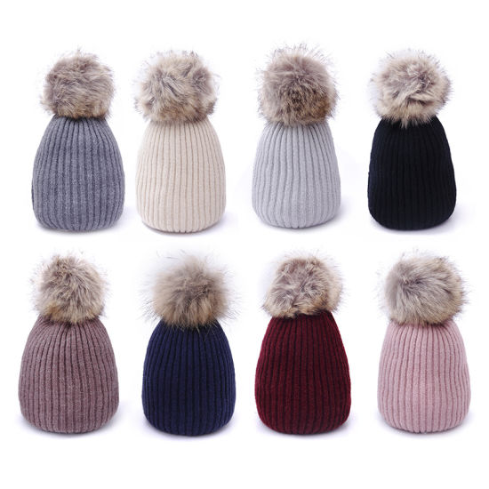 58f180e4 Stock Promotional Winter Warm Pompom Fashion Beanies pictures & photos