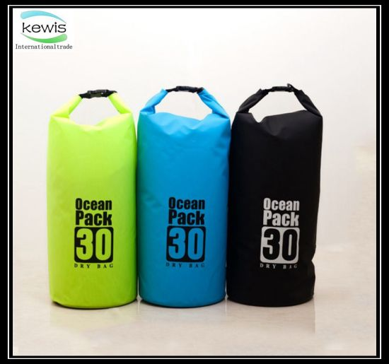 30L Waterproof Dry Bag with Special Shoulder Straps pictures & photos