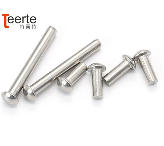 China Factory Price Stainless Steel Pan Head Solid Rivets