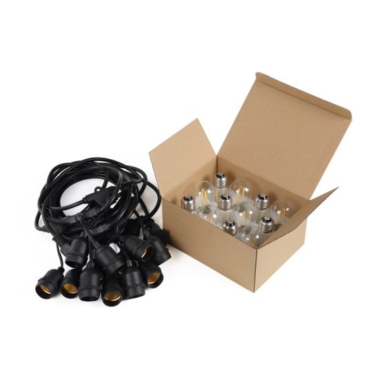 E26/E27 S14 Bulb Sting Light for Decorative, Parties, Festival Lighting pictures & photos