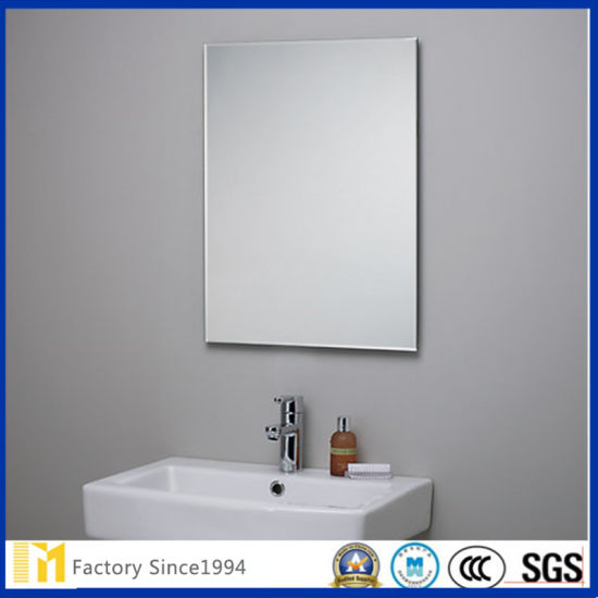Frameless Bathroom Mirror Glass for Wash Basin Mirror, Washing Closet