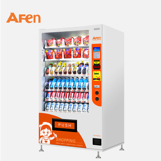 Afen Saudi Arabia Currency Vending Machine