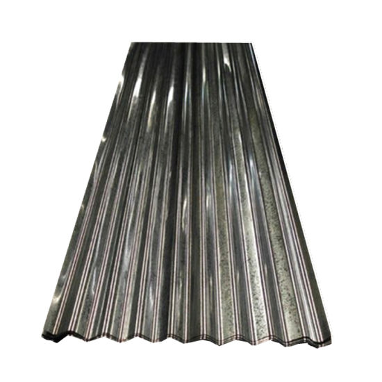 Dx51d Zinc Corrugated Galvanized Steel Roofing Sheet for Building
