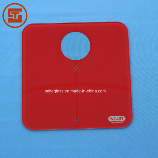 OEM ITO Tempered Glass Panel for Bathroom Electronic Baby Body Weighing Scale