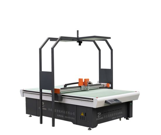 Gasket Cutting Machine with Oscillating Knife Machine for Graphite Asbestos PTFE