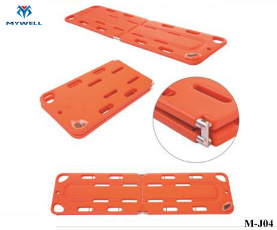 M-J04 Hot Sale Emergency Rescue Medical Spine Board Supplier pictures & photos