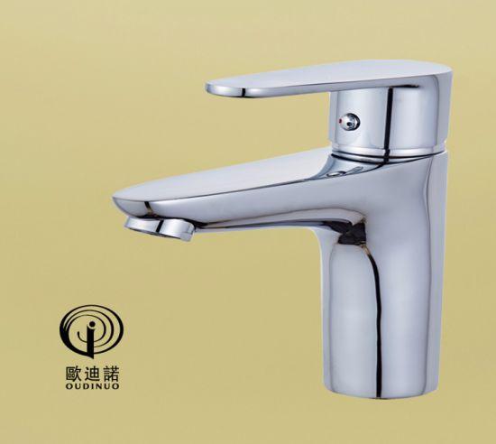 Brass Body Zinc Handle Basin Faucet Odn-67411-1