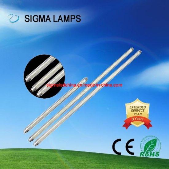 Sigma High Lm Milky Transparent 110V 220V AC Energy Saving Alum PC Glass T5 T8 2FT 60cm 9W 10W 4FT 120cm 18W 20W G13 Based Light LED Tube Lighting