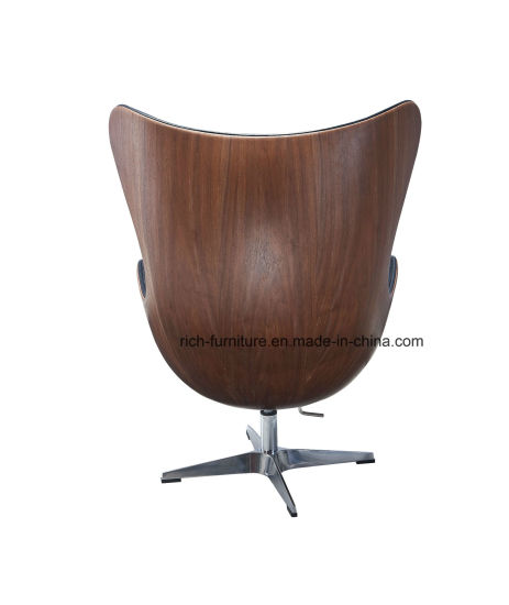 Egg Chair by Arne Jacobsen / European Design Armchair / Danish Design Chaise in Wood Veneer pictures & photos