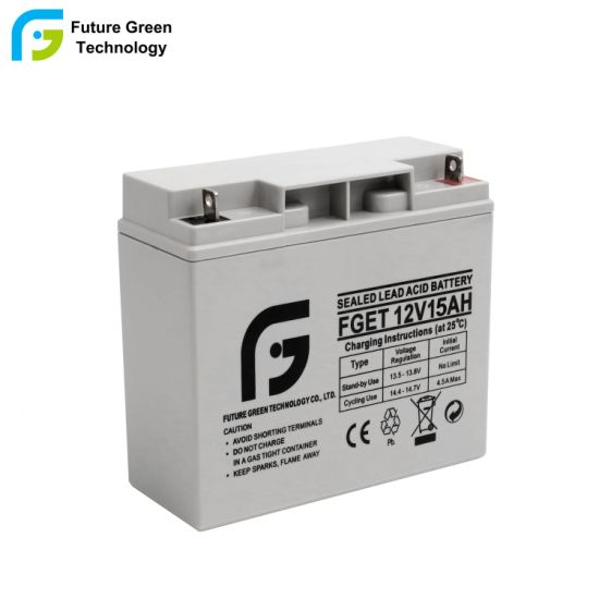 12V 15ah Wholesale Maintenance Free Sealed VRLA Acid Storage Battery