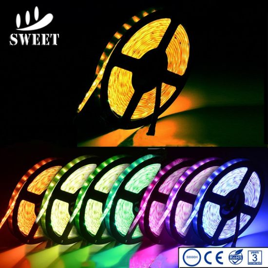5050 SMD Waterproof LED Flexible Stirp Light for Outdoor Christmas Decoration pictures & photos