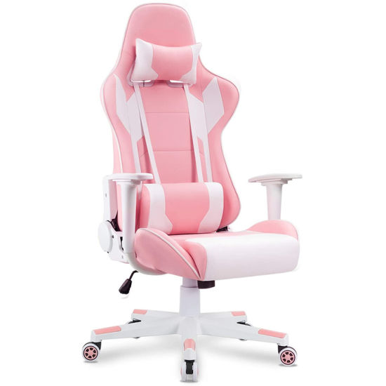 Gaming Chair Racing Office Computer Game Chair Ergonomic Backrest and Seat Recliner Swivel Rocker E-Sports Chair