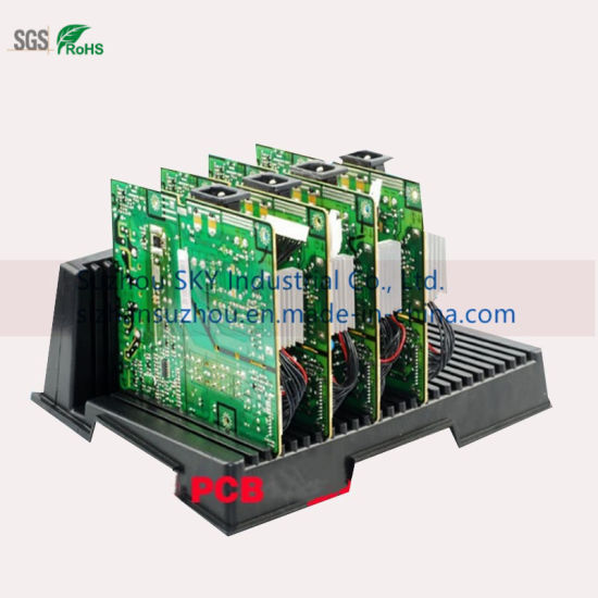 Anti-Static Component Box PCB Circuit Board Bracket ESD Turnover Box