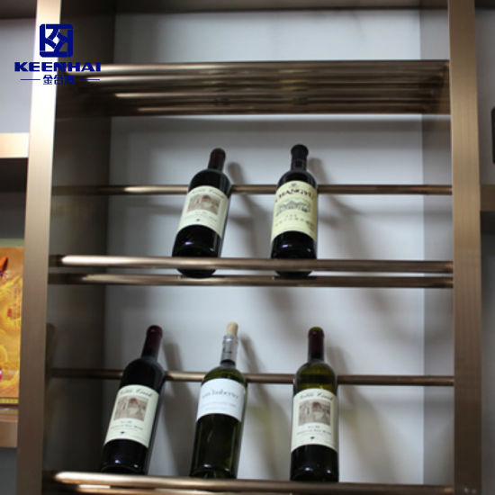 Stainless Steel Hanging Wall Wine Gl