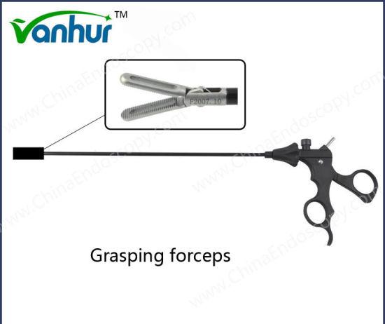 5mm Laparoscopic Atraumatic Fenestrated Grasping Forceps