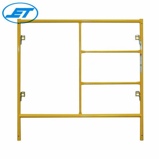 Blue System High Quality Steel Q235 Modular Scaffolding Mason Frame Scaffolding