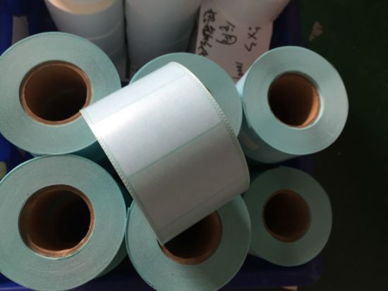 Custom Low Price and High Quality Thermal Transfer Direct Thermal Paper Synthetic PP Pet Vinyl Label