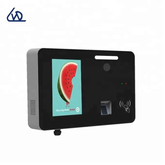 Outdoor Wall Mounted 10.1 Inch LCD Digital Display with Camera Fingerprinter Recognition Keyboard for Sps