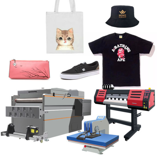 Mt Mtutech Direct to Film Printer Heat Transfer Pet Film Dtf Printer with I3200 Head for T Shirt Printing