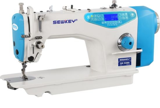 Sk9388 Direct Drive High Speed Computerized Lockstitch Sewing Machine