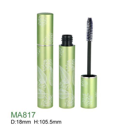 Wholesale Customized Makeup Container Round Empty Plastic Mascara Bottle Cosmetics