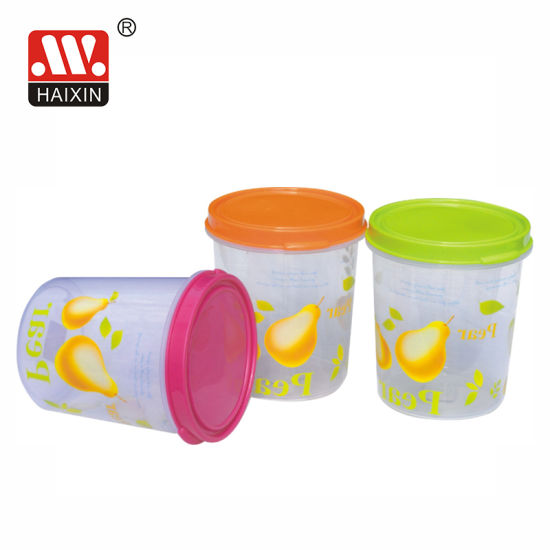 Plastic Container for Household and Kitchen Food Storage