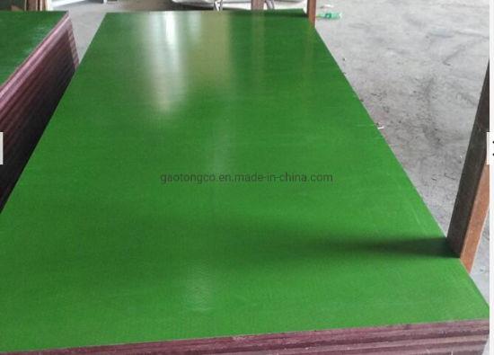 Phenolic Green Plastic Plywood 18mm PP Plastic Plywood