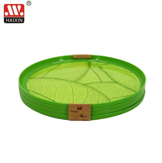in Mold Label Plastic Plate or Tray for Tableware and Dinnerware