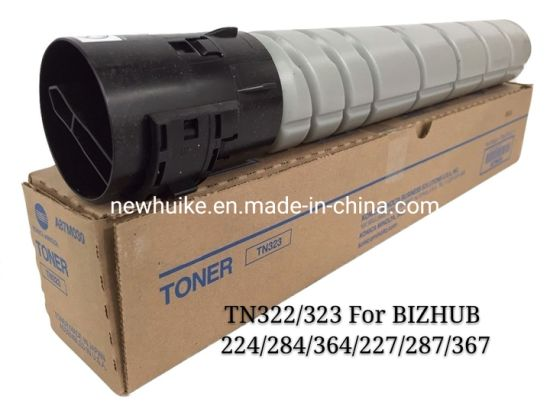 for Konica Minolta Tn323/322 Compatible Japan Toner Cartridge for Copier Bizhub 224/284/364/367/287/228