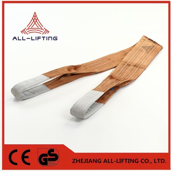 6t Double Flat Lifting Polyester Webbing Sling