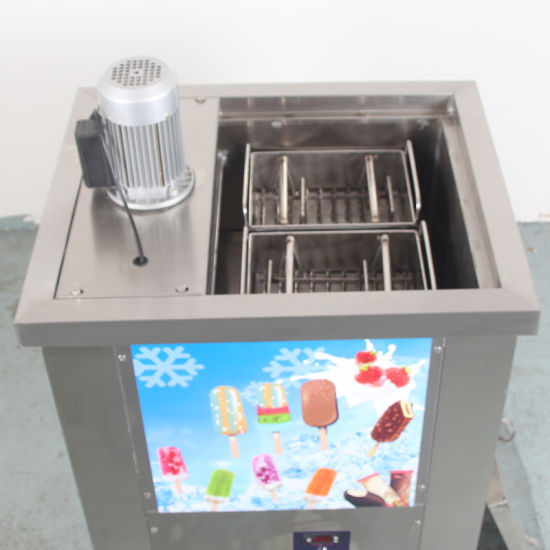 2 Ice Molds Lollipop Popsicle Lolly Ice Cream Making Machine pictures & photos
