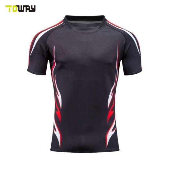 ebe0aad18e6 China Mens Custom Sublimated Fiji Rugby Jersey - China Jersey Rugby ...
