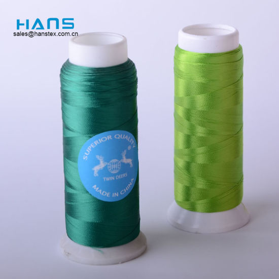 Hans Promotion Cheap Pirce Dyed Natural Silk Thread pictures & photos