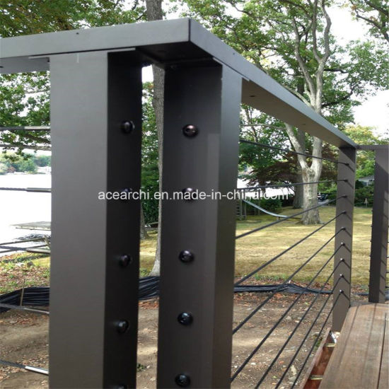 Galvanized Steel Deck Cable Railing Tension System Wire Barade