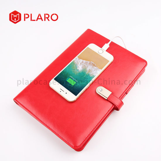 Built-in Power Bank Notebook with Flash Driver as Promotional Gift pictures & photos