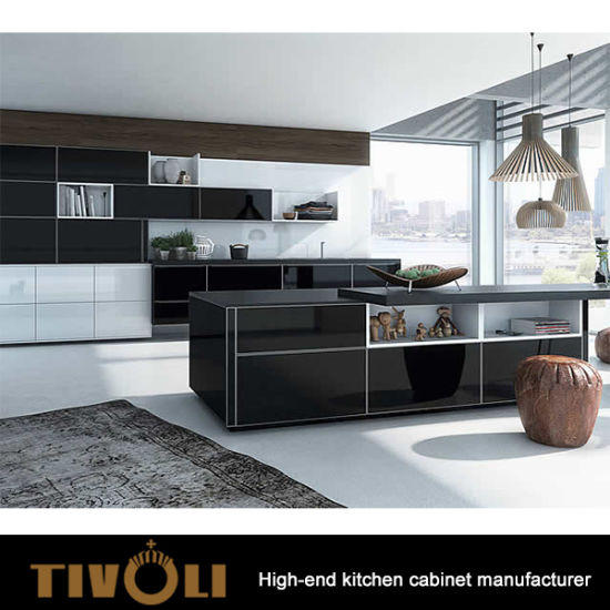 High End Modern Kitchen Designs White Black Kitchens Tv 0158